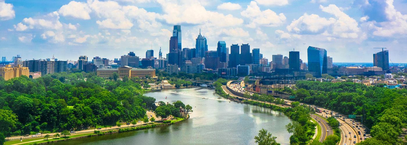 philadelphia river day time